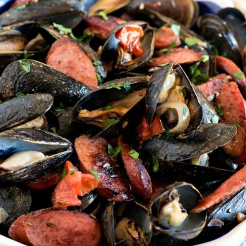 Polish-Style Steamed Mussels - A Family Feast