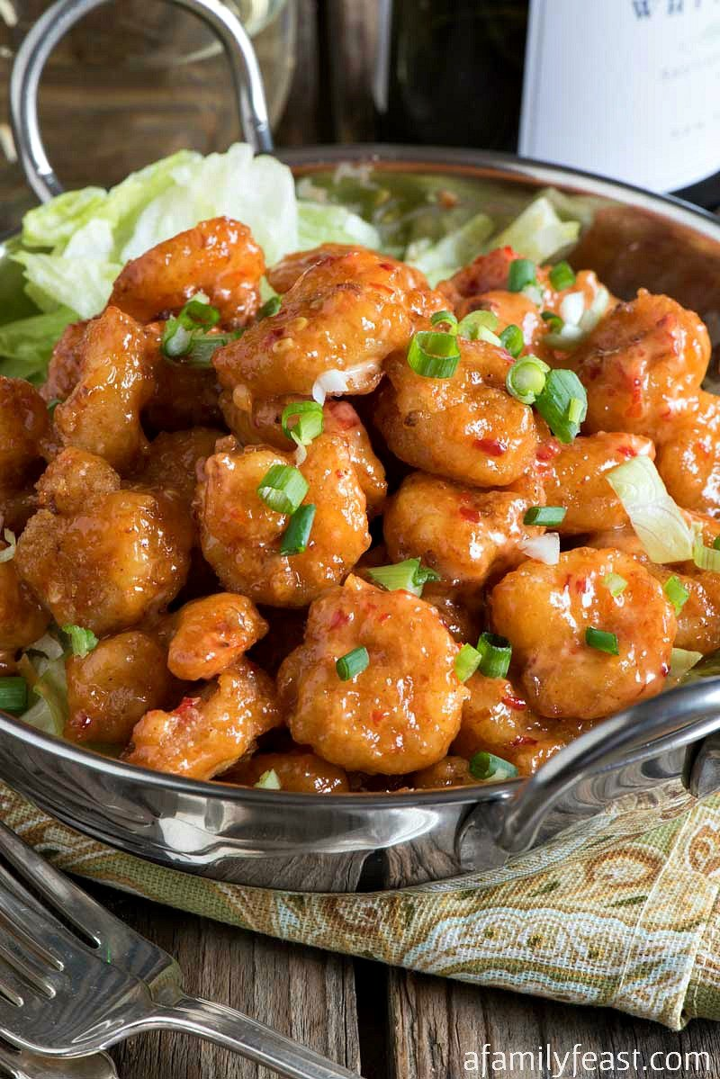Bang Bang Shrimp - A copycat version of the super popular appetizer originally served at the Bone Fish Grill chain of restaurants.
