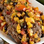 Grilled Beef Patties with Mediterranean Salsa - A Family Feast