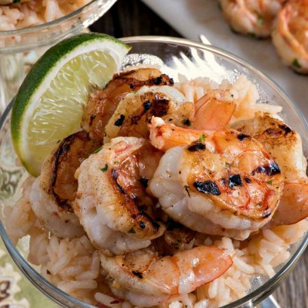 Margarita Shrimp with Rice - A Family Feast