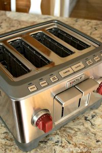 Wolf Gourmet Toaster Product Review and Giveaway - A Family Feast
