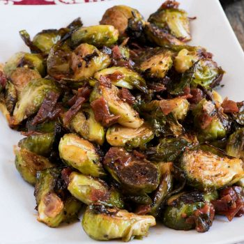 Brussels Sprouts with Sweet Hot Chili Sauce - A Family Feast