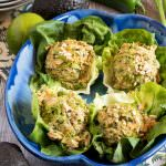 Southwest Tuna Salad Lettuce Boats - A Family Feast