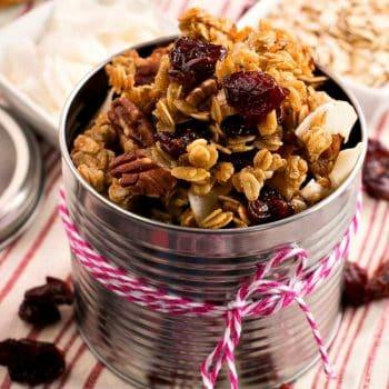 Cherry Granola - A Family Feast