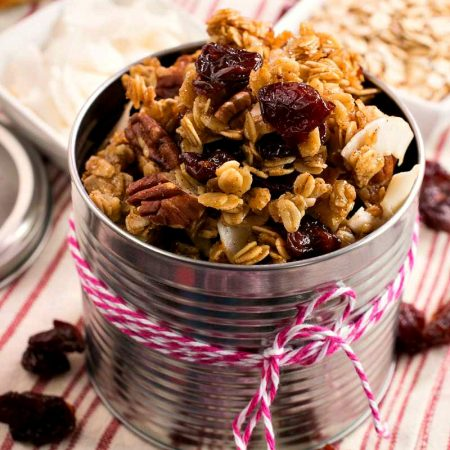 Cherry Granola - A Family Feast