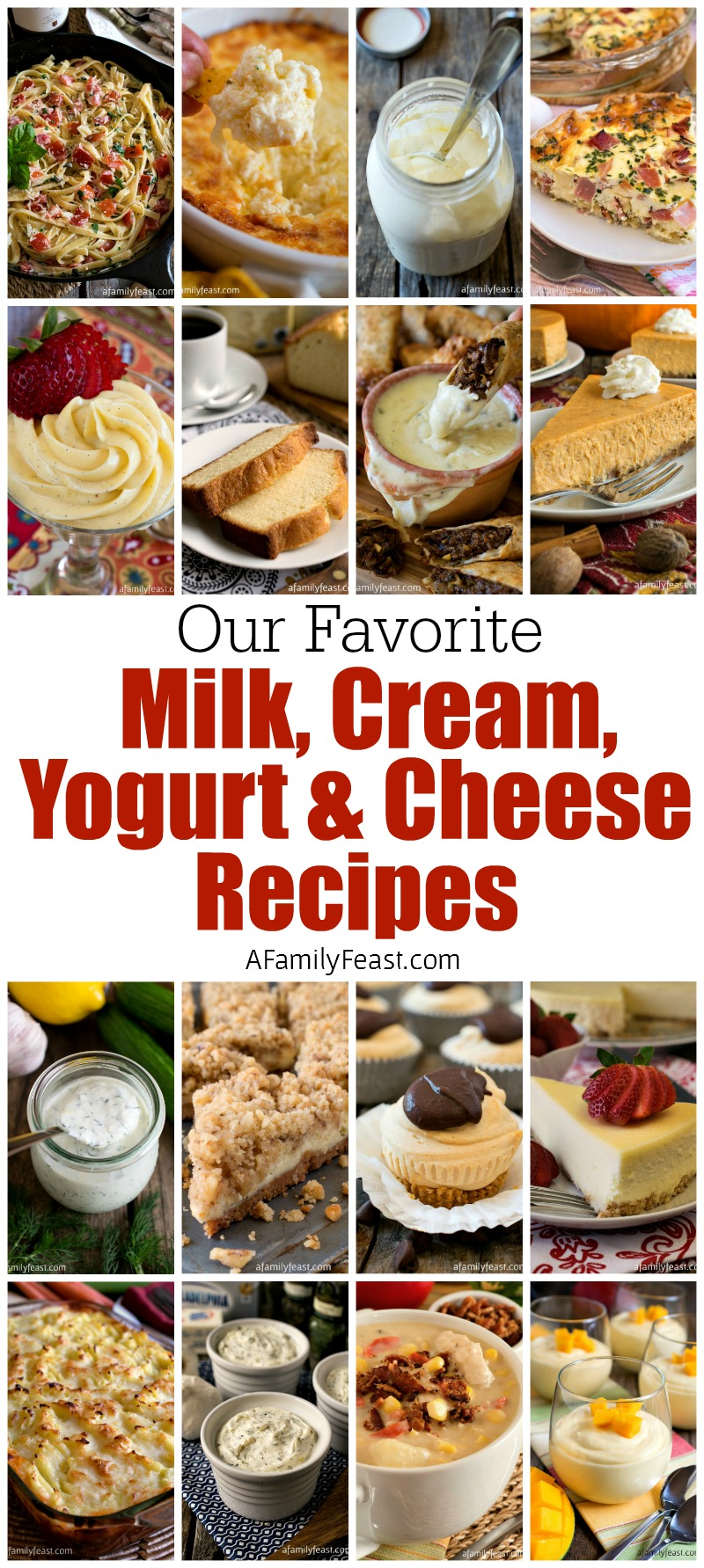 A delicious collection of Milk, Cream, Yogurt and Cheese Recipes plus a visit to a CT dairy farm to see how dairy cows are bred.