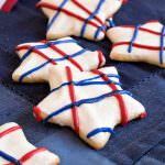 Star Spangled Sugar Cookies - A Family Feast