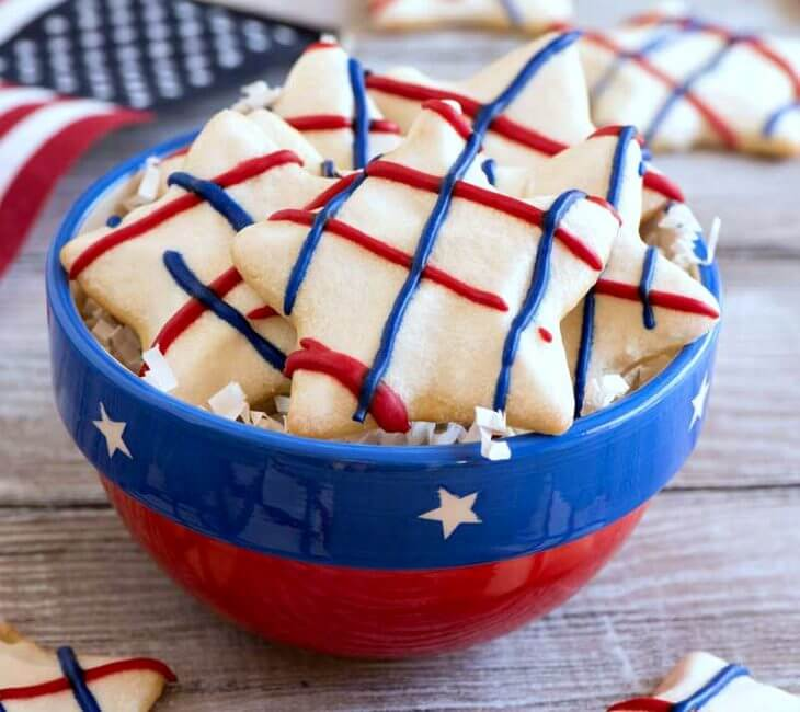 Star Spangled Sugar Cookies