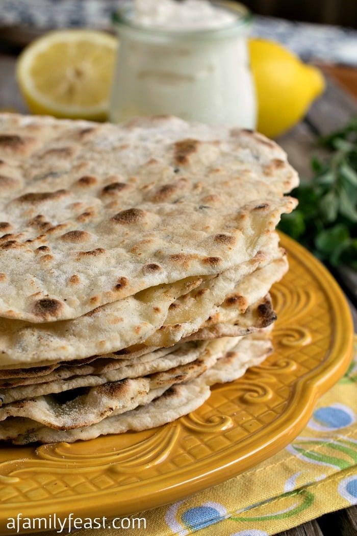 easy Turkish Flatbread