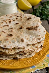 Turkish Flatbread - A Family Feast