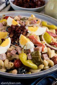 Creamy Italian Pasta Salad - A Family Feast