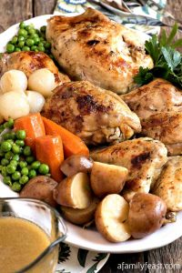 Instant Pot Country Chicken - A Family Feast