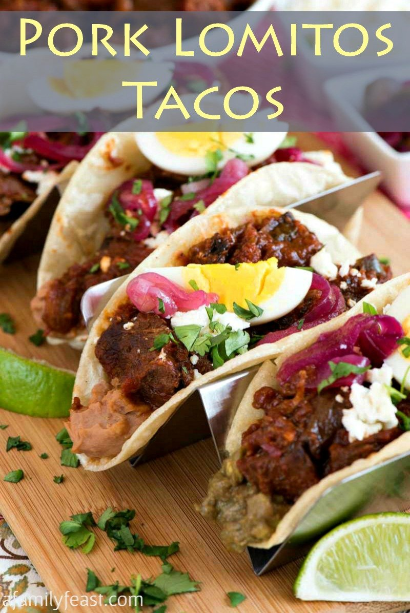 Pork Lomitos Tacos | Mexican cuisine | pulled pork |
