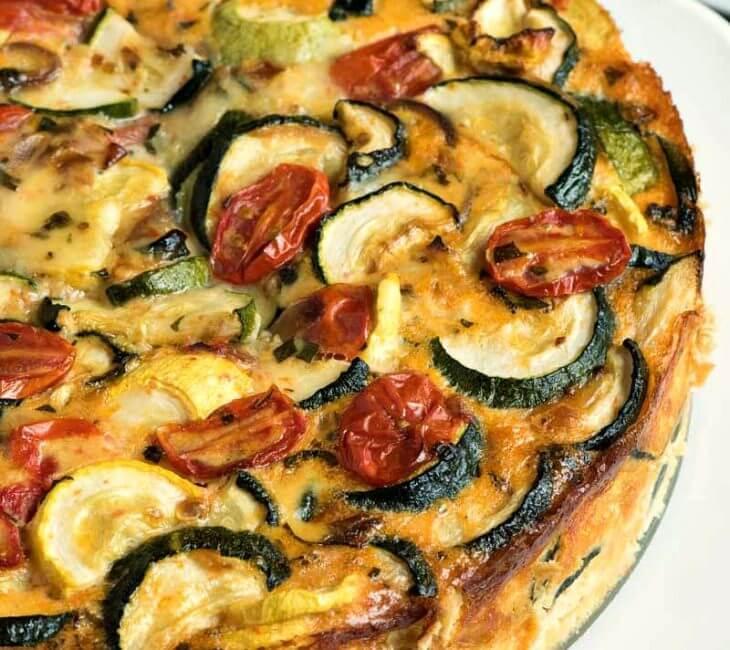 Summer Vegetable Torte