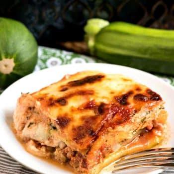 Zucchini Lasagna - A Family Feast