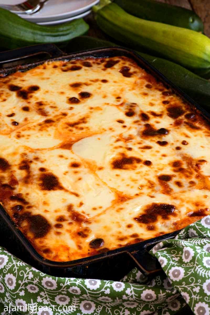 zucchini lasagna - a family feast®