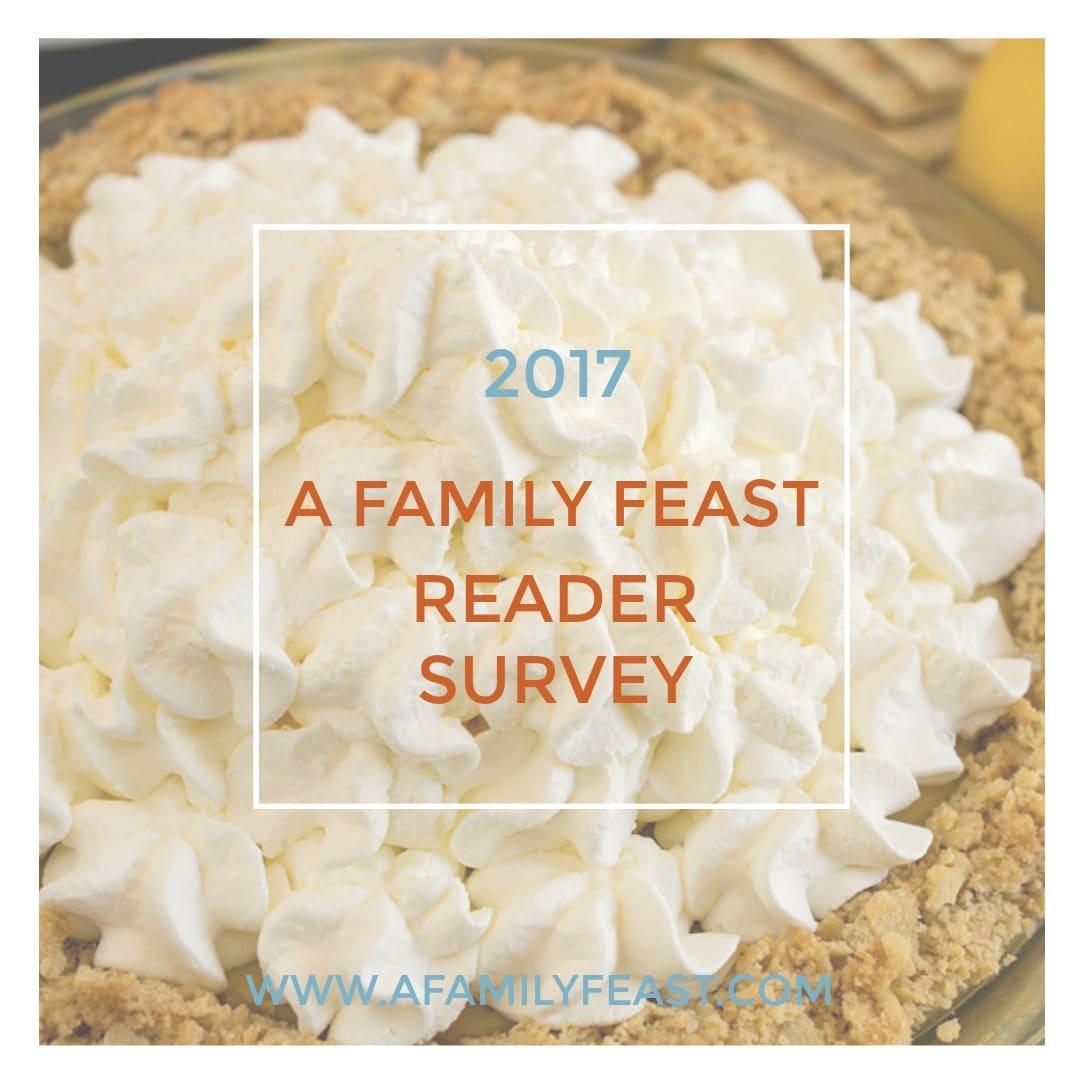 Reader Survey 2017 - A Family Feast