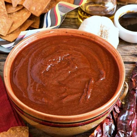 Southwestern Red Chile Sauce - A Family Feast