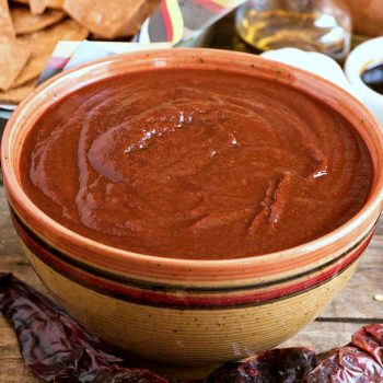 Southwestern Red Chili Sauce - A Family Feast