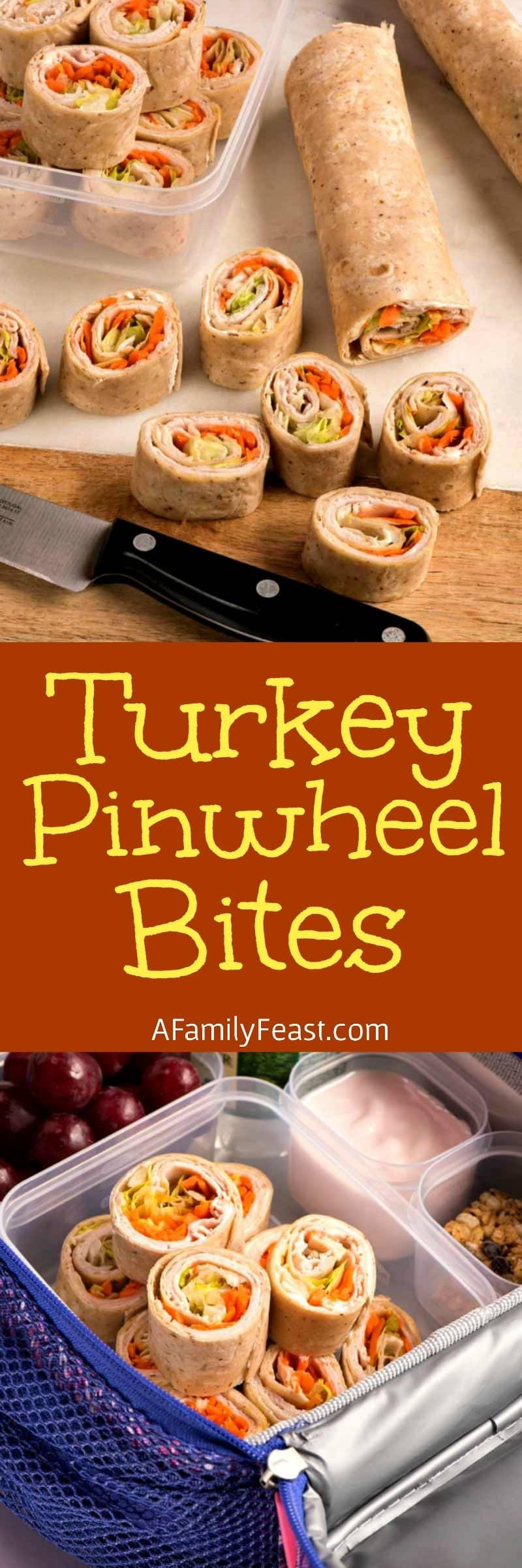 Turkey Pinwheel Bites