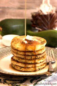 Zucchini Johnnycakes - A Family Feast