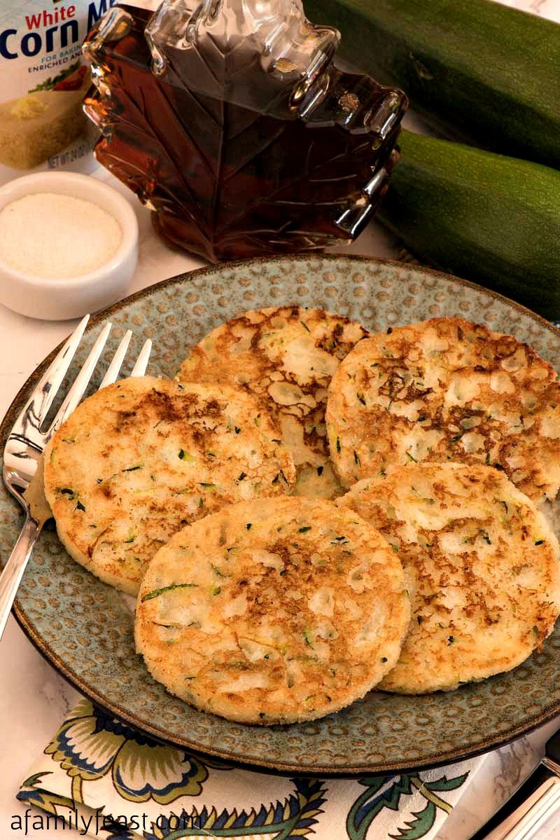 Zucchini Johnnycakes - A Family Feast
