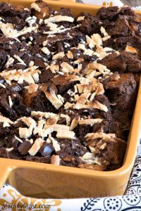 Mocha Bread Pudding - A Family Feast