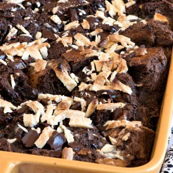 Mocha Bread Pudding - A Family Feast
