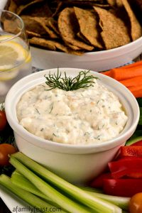 Yogurt and Feta Dip - A Family Feast