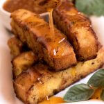Cornbread Fries with Honey-Sage Dipping Sauce