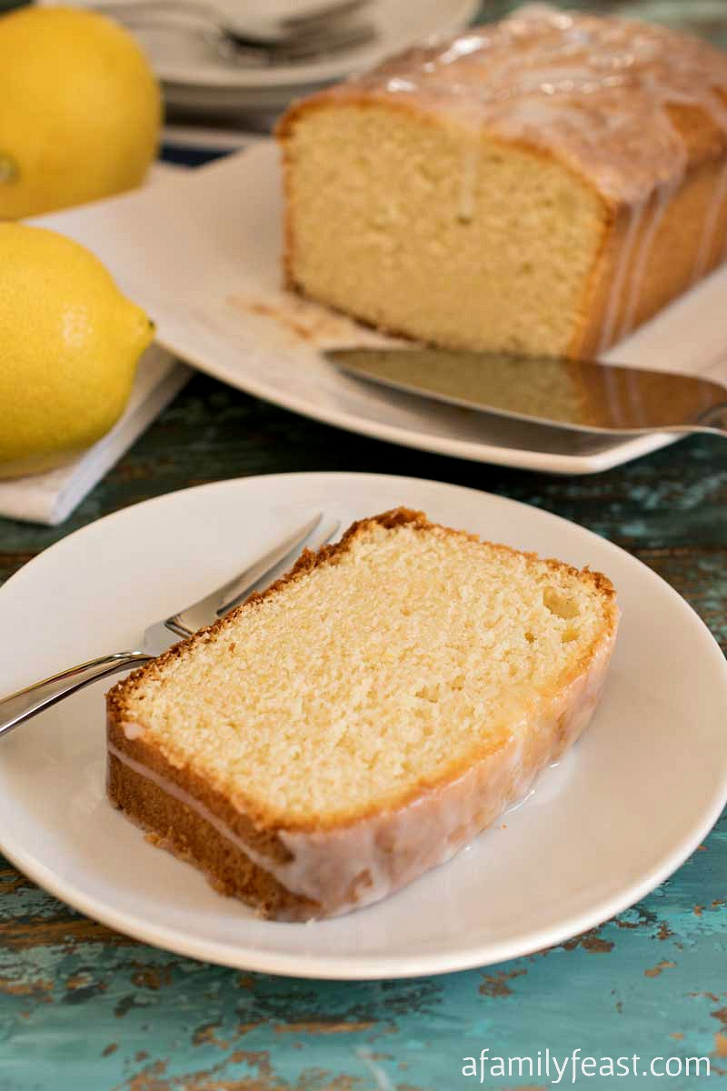 This Lemon Loaf Cake is easy, delicious and full of lemon flavor!