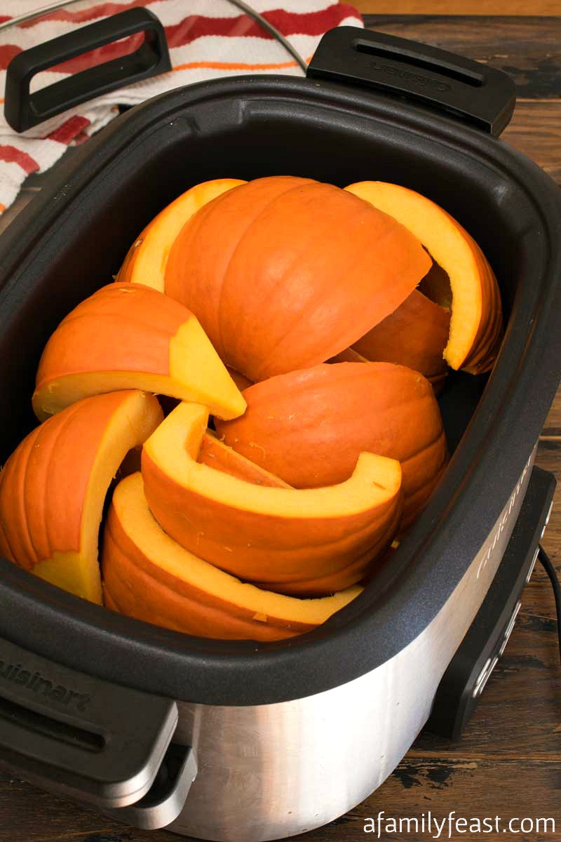 sugar pumpkin purée