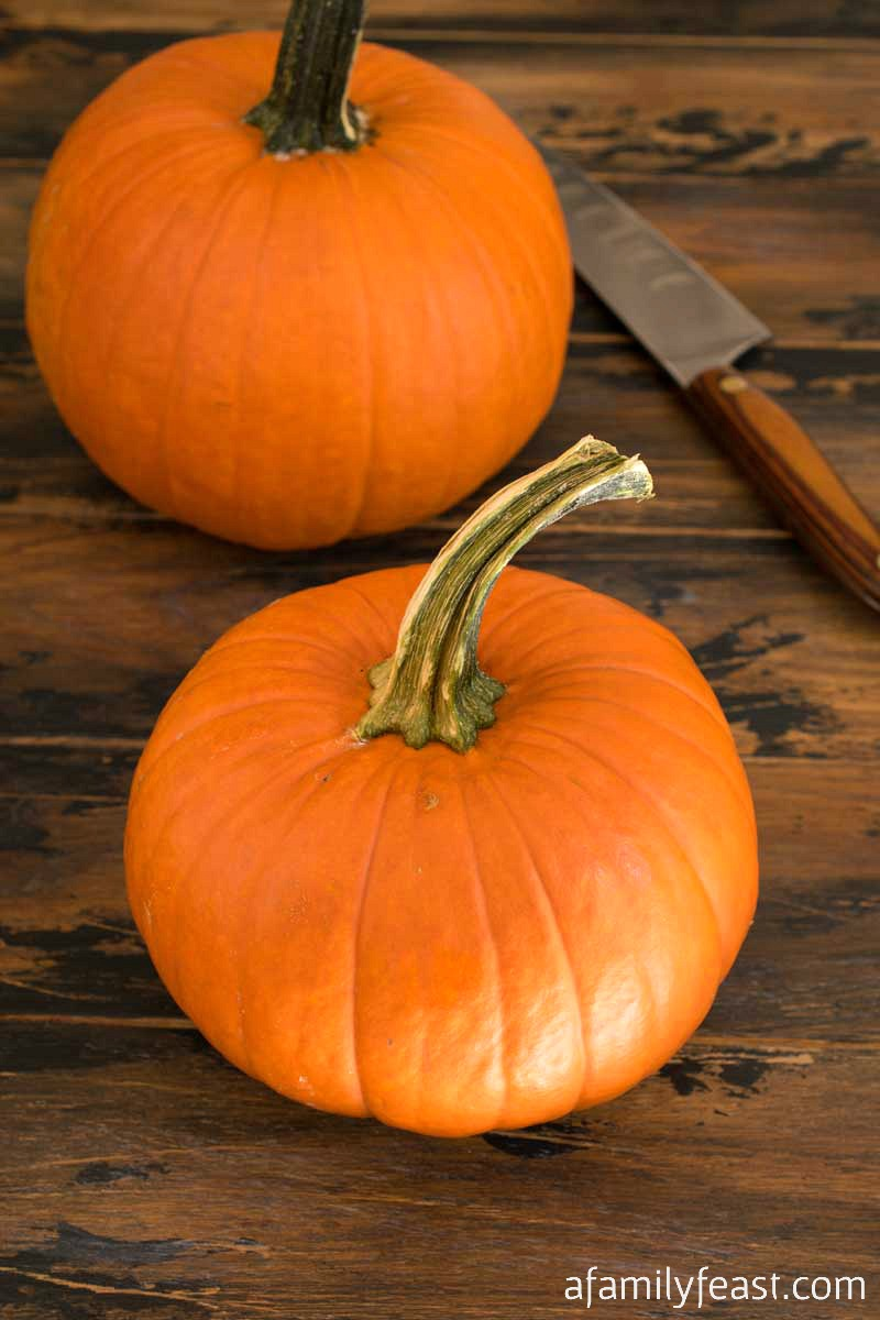 Slow Cooker Pumpkin Purée