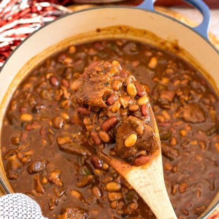 Meat Lover's Dr Pepper Baked Beans - A Family Feast