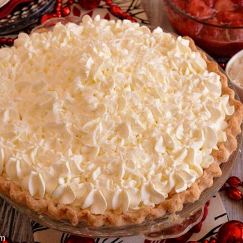 White Christmas Pie