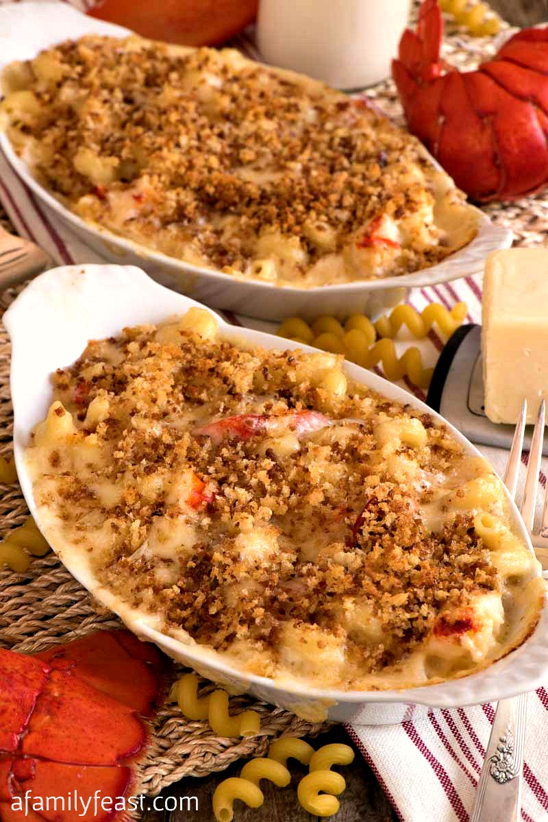 Lobster Mac and Cheese Recipe - Creamy and delicious!