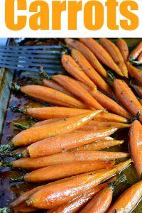 Cider Glazed Carrots