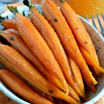 Cider Glazed Carrots - A Family Feast