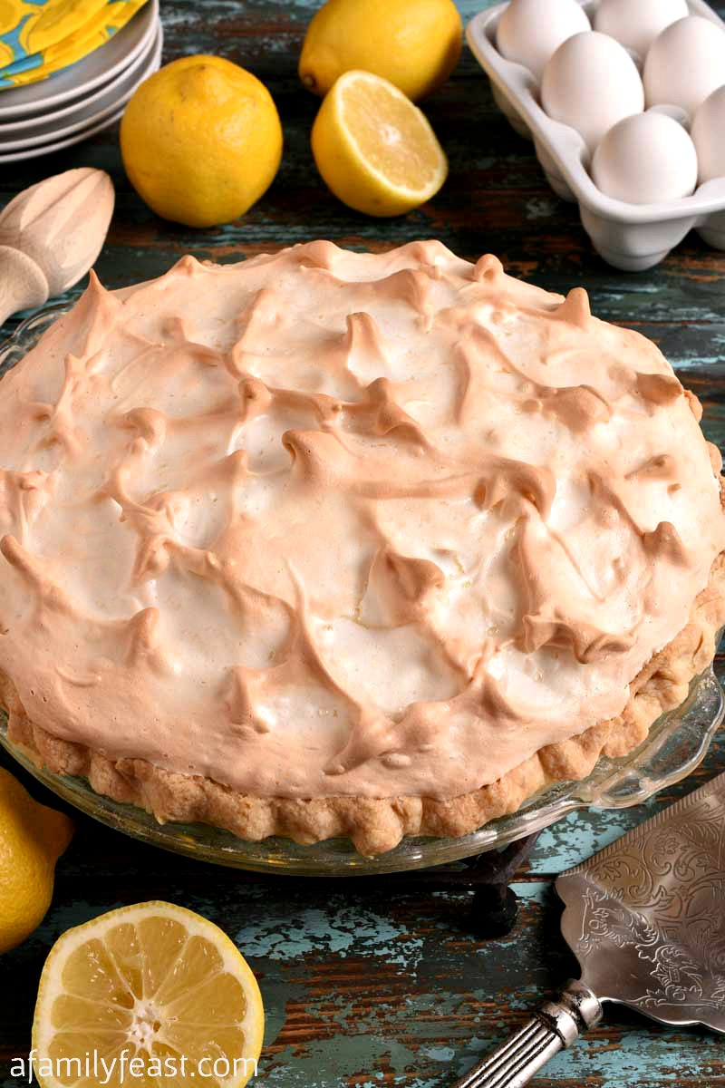 Lemon Meringue Pie is a classic that everyone should know how to make! We share tips and tricks to help you make the best, most perfect lemon meringue pie.