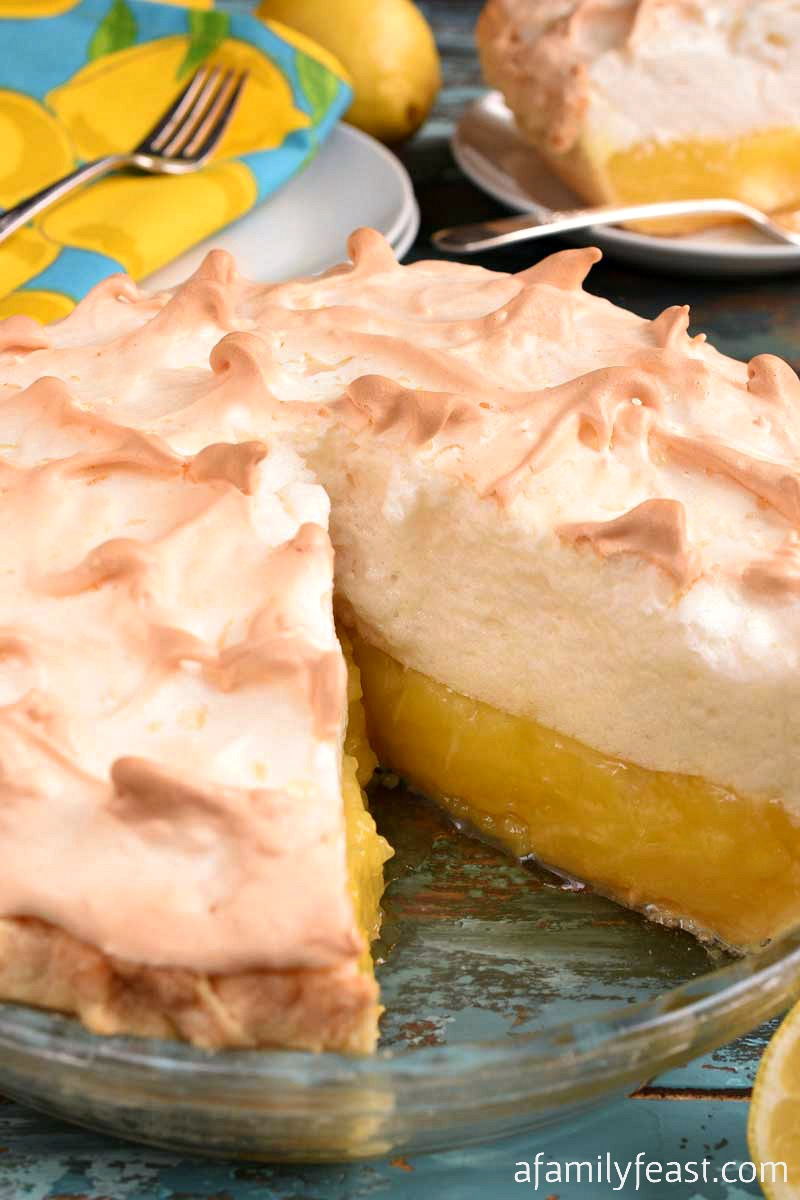 Lemon Meringue Pie - A Family Feast