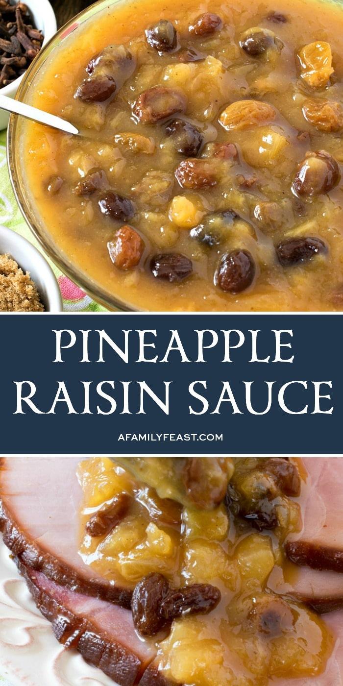 Pineapple Raisin Sauce