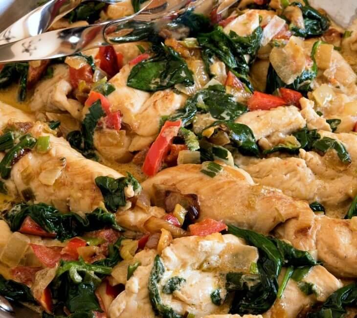 Chicken Tender Sauté