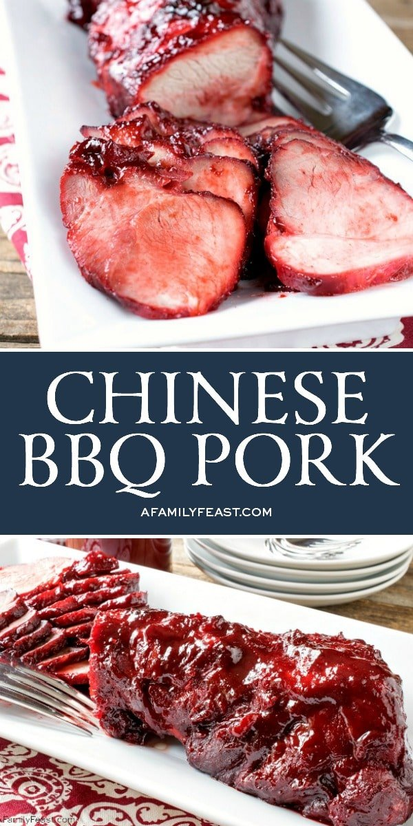 Chinese BBQ Pork - A Family Feast