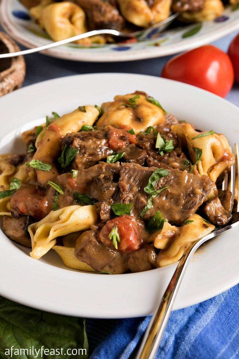 Braised Beef And Tortelloni A Family Feast