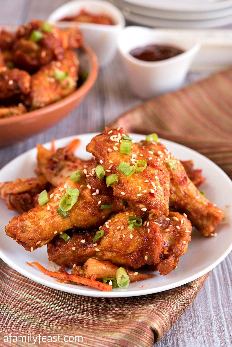 Food Network Korean Fried Chicken Wings