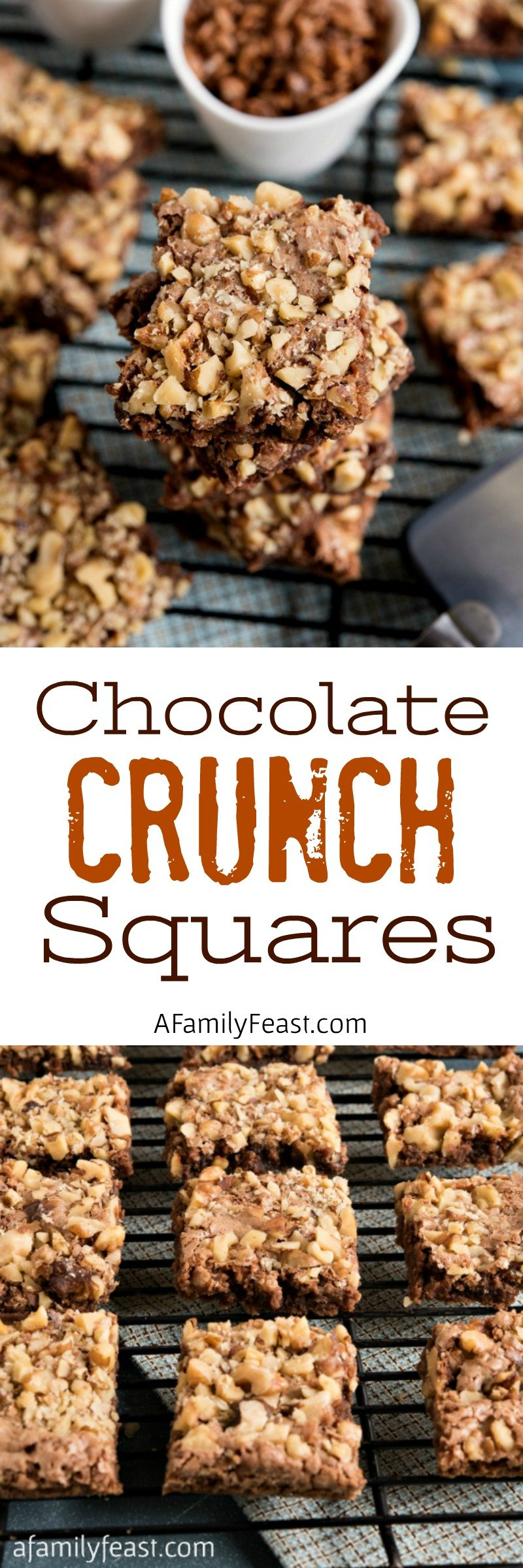 Chocolate Crunch Squares