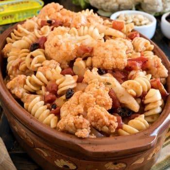 Fusilli with Cauliflower