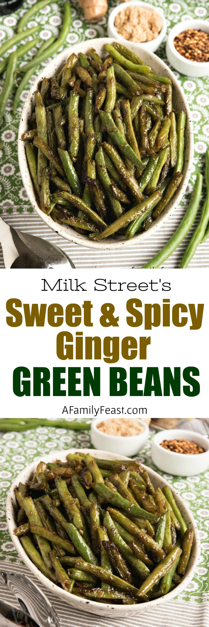 Milk Street Sweet Spicy Ginger Green Beans