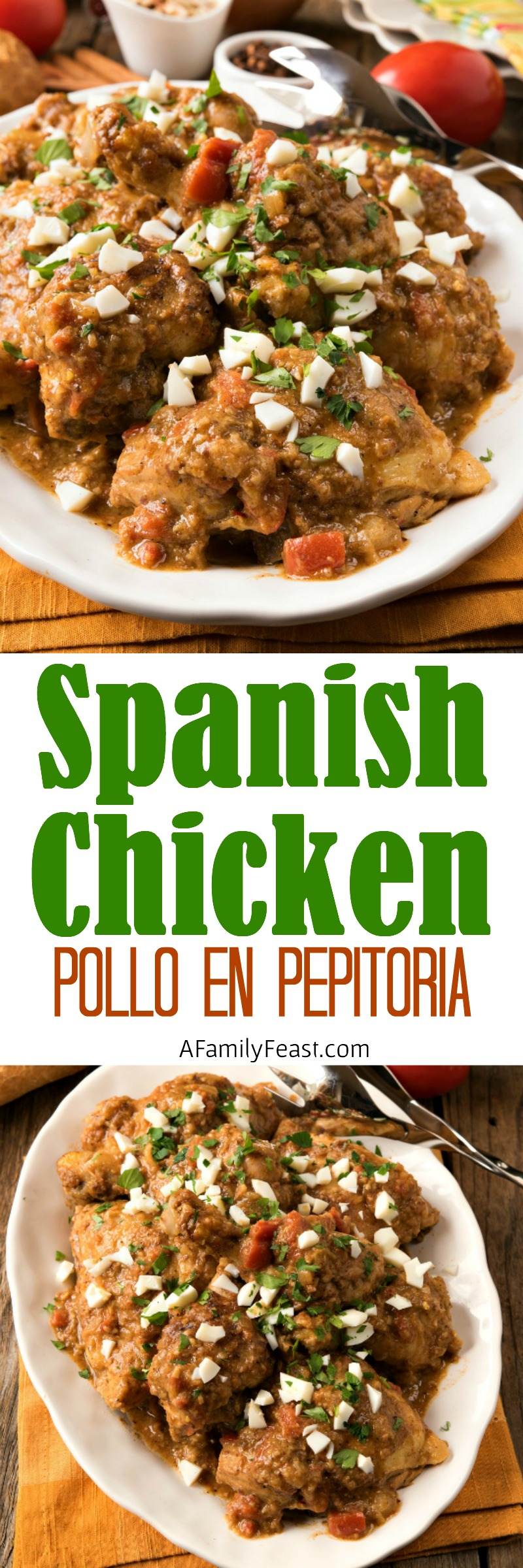 Spanish Chicken in Pepitoria Sauce