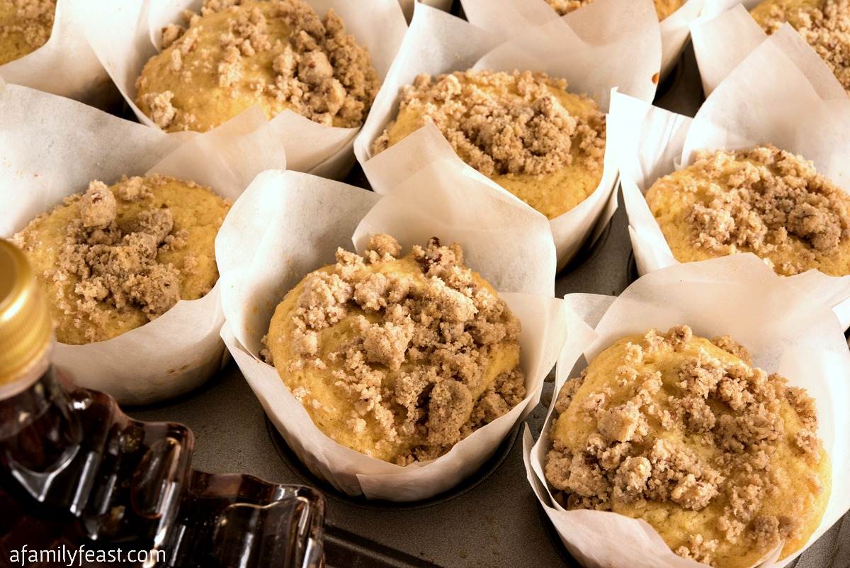 Maple Streusel Muffins
